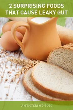 Why are gluten and dairy the two biggest culprits of Leaky Gut? Low Stomach Acid, Lectins, Leaky Gut Syndrome, Slippery Elm, Toxic Foods, Candida Diet, Inflammatory Foods, Atkins Diet, Food Facts