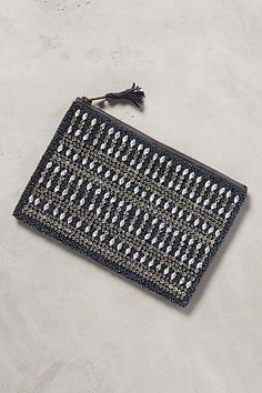 aeon beaded clutch / anthropologie