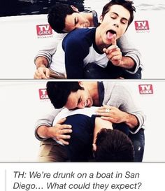 Tyler and Dylan - Derek and Stiles - Funny :D: