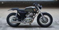 "Yamaha SR400 Street Tracker ""ZF-R4"" by ZIFE Design"