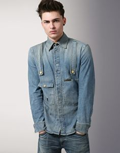 Vivienne Westwood Anglomania for Lee Denim Shirt
