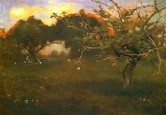 "Jan Stanislawski ""Orchard. Biala Cerkiew"""