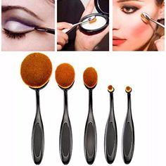 Sankuwen 5 Pcs Face Foundation Toothbrush Makeup Brush >>> Check out the image by visiting the link. (Note:Amazon affiliate link)