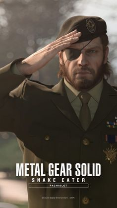 Update Nov new wallpapers have been added, scroll to the bottom to see them. A bunch of wallpapers has been released on the official Metal Gear Solid Snake Eater Pachislot website, each availa… Metal Gear 3, Big Boss Metal Gear, Snake Metal Gear, Metal Gear Solid Series, Meryl Mgs, Video Game Art, Video Games, Cry Anime, Anime Art