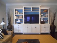 Love this style for the family room.