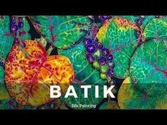 (5) Basic Silk Painting Techniques - Fine Art Tips - YouTube