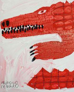 Miroco Machiko Akai Wani (Crocodile)