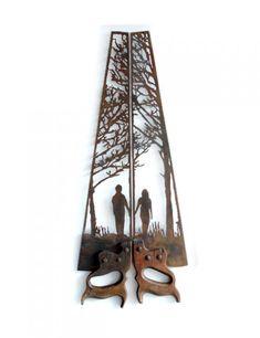 Les sculptures de scies de Dan Rawlings  2Tout2Rien