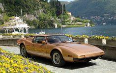 1973 De Tomaso Montella at Lake Como