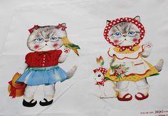 OrientalDirect.co.uk - Printed Cotton Craft Fabric - Dressed Cute Retro Chic Cat Vintage Toy TV Bird Rabbit, £8.99 (http://www.orientaldirect.co.uk/printed-cotton-craft-fabric-dressed-cute-retro-chic-cat-vintage-toy-tv-bird-rabbit/)