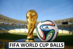 First FIFA World Cup ball was made in After that many official match balls came out on each new event. Take a look at all World Cup soccer balls. Fifa World Cup 2014, Brazil World Cup, World Cup 2018, Lionel Messi, Cristiano Ronaldo, Jerome Boateng, Samba, Premier League, Lars Bender