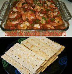 Ceviche colombiano echo por mi 👑