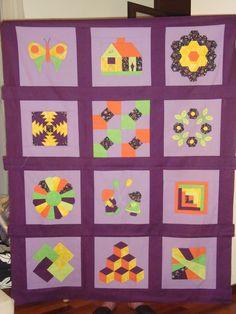 Sal patchwork principiante.