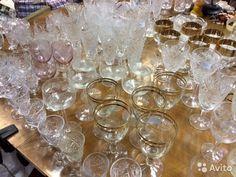 Фужеры, рюмки, бокалы, стаканы богемский хрусталь