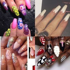 Collage of nails...