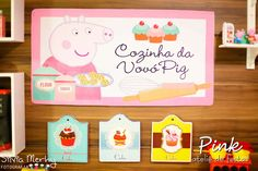 Peppa Pig Birthday Party Ideas | Photo 40 of 146