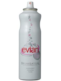 Evian Brumisateur Facial Spray This is the greatest thing ever, I swear. It's my best buddie year-round.