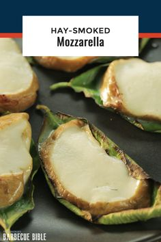 Hay-Smoked Mozzarella - This cold-smoked cheese tastes delicious in appetizers like caprese salad. Easy to make at home! Smoked Mozzarella Recipe, Mozzarella Caprese, Smoked Cheese, Caprese Salad, Barbecue Recipes, Grilling Recipes, Beef Recipes, Chicken Recipes, Grilled Side Dishes