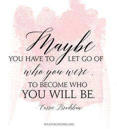 Let Go // Carrie Bradshaw