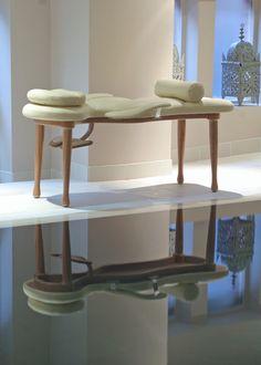 Aureus massage couch by Aequum