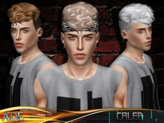 New Male hairstyle ll using Stealthic Texture ll with custom thumbnail Found in TSR Category & Sims 3 Hairstyles& The Sims, Sims Cc, Sims 4 Cc Kids Clothing, Sims Community, Hair Inspiration, Kids Outfits, Male Hair, Maxis, Hairstyles