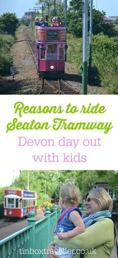 A vintage family day out at Seaton Tramway in East Devon. Pictures from a ride from Colyton to the Jurassic Coast at Seaton and why it's a lovely family day out