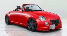 コペン COPEN エアロパーツ リップ タイプ|ダイハツ L880K MC(マイナーチェンジ)前後共通|KLC - Kcar Luxury Complete