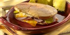 Cuban Style Pressed Sandwiches