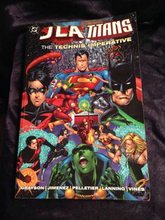 JLA/Titans: The Technis Imperative. DC Softcover Graphic Novel