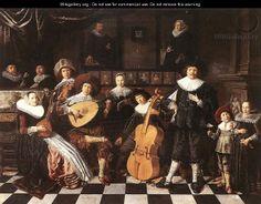 Jan Miense Molenaer 'Family making music' http://en.wikipedia.org/wiki/Jan_Miense_Molenaer