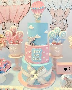 73 Cute Baby Shower Themes and Decorating Ideas for Girls « Dreamsscape Simple Gender Reveal, Gender Reveal Themes, Pregnancy Gender Reveal, Gender Reveal Party Decorations, Baby Gender Reveal Party, Gender Party, Baby Shower Decorations, Pregnancy Photos, Deco Baby Shower