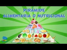 Alimentación sana. La Pirámide Alimentaria   Videos Educativos para niños. - YouTube