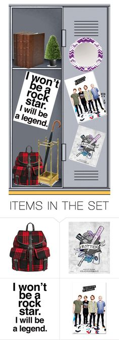 """""""My dream locker"""" by masteremo9099 ❤ liked on Polyvore featuring art"""