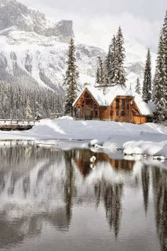 ...Emerald Lake Lodge in Canadian Rocky Mountain