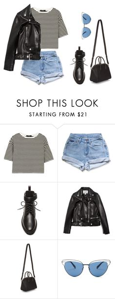 """Untitled #7423"" by ijustlikefashionman ❤ liked on Polyvore featuring TIBI, Levi's, Balenciaga, Acne Studios, Givenchy and Oliver Peoples"