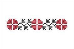 Semne Cusute: MOTIVE: trifoiul simbolul universal al norocului.