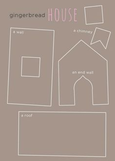 ginger bread house tutorial