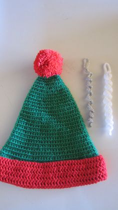 More things (hat & icicles) as Christmas tree decorations to hang on Beanie Festival's Tree in 2015 Christmas Tree Festival