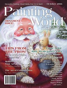 1-Year Subscription to Painting World Magazine (starts with October issue)