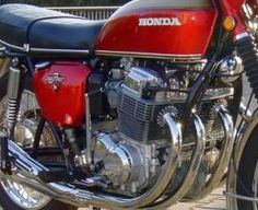 Honda 750 Red 1972