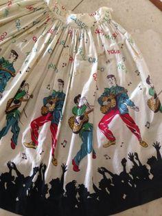 1950S Elvis Presley Rock N Roll Noverly Circle Skirt