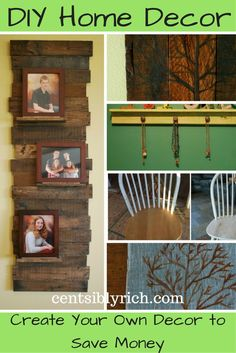 DIY your next home decor project. Here are my latest projects for a little…