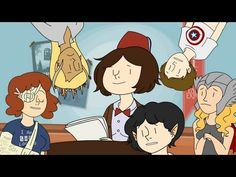 Imagine there's a tv network for fangirls and fanboys. And only your favorite tv series are all in it. Why aren't we funding that?! I love her cartoon, its all about the fangirls and fanboys and fandoms. Check out her youtube page >> onlyleigh   :))