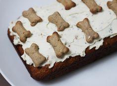 Dog friendly birthday cake, dog friendly cake recipe