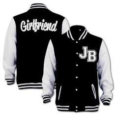 Bang Tidy Clothing Unisex Jb Girlfriend Varsity Jacket