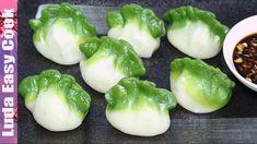 Вкусные ЦВЕТНЫЕ ПЕЛЬМЕНИ рецепт Китайские ПЕЛЬМЕНИ на пару - Spinach Gre...
