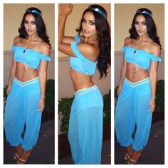Sexy princess jasmine costume