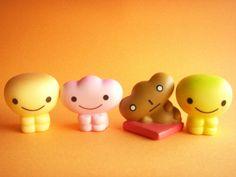 Kawaii Cute Kogepan & Friends Mini Figure Doll Toy San-x Japan by Kawaii Japan, via Flickr