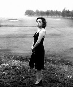 """Jeanne Moreau in """"La Notte"""" (1961, dir. Michelangelo Antonioni)"""