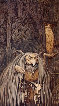 I want to pin every pic on this page! John Barleycorn Must Die: Around the Table with...Brian & Wendy Froud. Part 1
